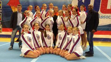 Internationaal cheerleaderskamp op Windesheimcampus
