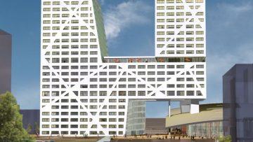 X-gebouw krijgt opmerkelijke facelift