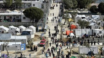 Helpen in een vluchtelingenkamp